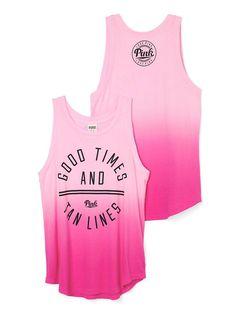 Muscle Tank - PINK - Victoria's Secret