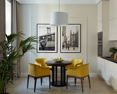 Small apartment for a young woman in Moscow by Dina Salakhova (54 sqm)   PUFIK. Beautiful Interiors. Online Magazine