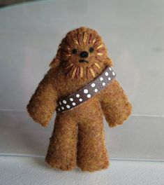 Chewbacca feutrine jouet de personnage Star Wars miniatures