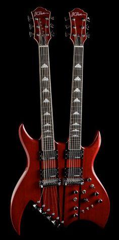 BC Rich Bich Doubleneck 6/12 String Guitar