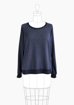 Linden Sweatshirt Grainline Studio Sewing Pattern 1005. Size 0-18.