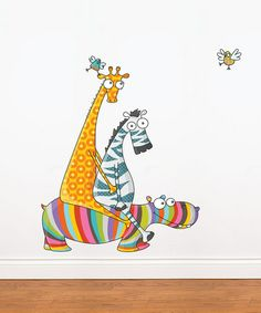 Take a look at this Friends' Day Out Wall Decal by ADzif on #zulily today!