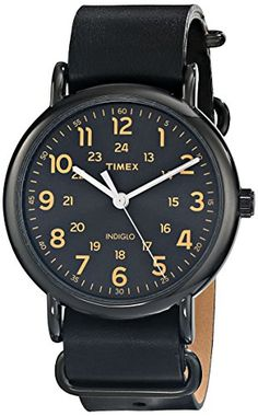 "A cheap start---Timex Unisex T2P4949J ""Weekender"" Watch with Black Leather Band Timex http://www.amazon.com/dp/B00LPRTDZA/ref=cm_sw_r_pi_dp_PGmDub0JE1GF1"