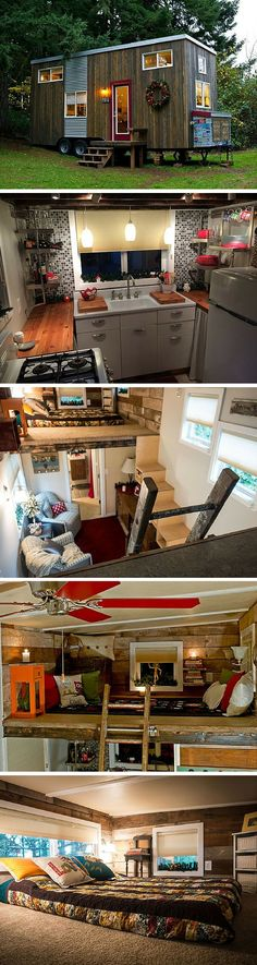 A cozy DIY tiny home in Sherwood, Oregon.: A cozy DIY tiny home in Sherwood, Oregon.