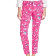 NWT Lilly pulitzer Kelly Ankle Pant 2 Still on website for 148!! Lilly Pulitzer Pants Ankle & Cropped