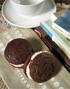 Maple Marshmallow Creme Filled Whoopie Pies(Gluten-free) - The Sensitive Pantry - Gluten-free, Egg-free, Dairy-free, & Vegan Recipes