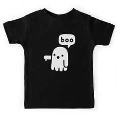 Disapproving Ghost Kids Tee by Obinsun. Find your thing this Halloween.