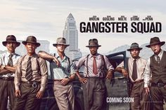 GREAT POSTER AND BRAND NEW TRAILER: Gangster Squad