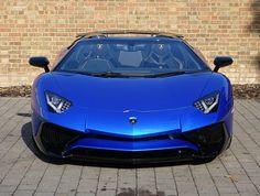2016 (66) Lamborghini Aventador SV Roadster | Blue Nethuns