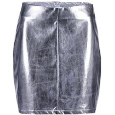 Boohoo Astatia Metallic A Line Mini Skirt ($15) ❤ liked on Polyvore featuring skirts, mini skirts, short pleated skirt, metallic skirt, pleated maxi skirts, pleated skirt and pleated a line skirt