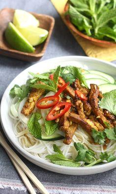 Vietnamese Grilled Pork Noodle Salad