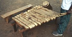 Traditional Instruments of the Uganda people - text in English