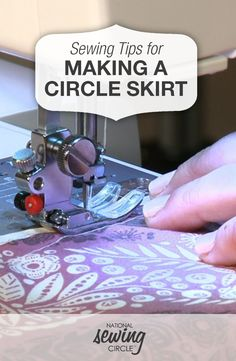 How to Make a Circle Skirt - Sewing Video