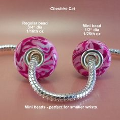 Disney's Alice in Wonderland Cheshire Cat inspired polymer clay bead fits Pandora bracelets by BasicEleganceJewelry on Etsy