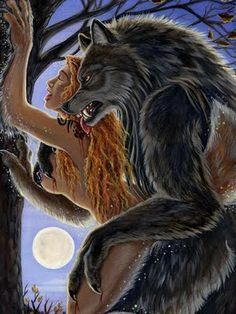 Werewolves and nude women