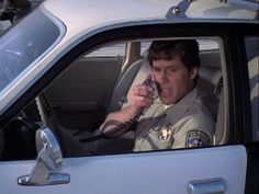 Brodie Greer as Barry Bear Baricza wallpaper containing a car in The CHiPs Club Tv Shows, Chips, Bear, Club, Actors, Celebrities, Movies, Fictional Characters, Films
