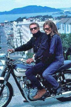 Steve McQueen & Jacqueline Bisset
