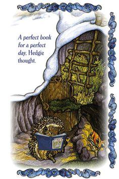 Jan Brett books and illustrations are magical