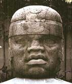 In the Jalapa museum is this magnificent Olmec stone head from San Lorenzo. The monolith is 8.5 feet tall.