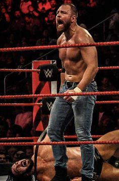 Wrestling Superstars, Wrestling Wwe, Renee Young Wwe, Wrestlemania 29, Jonathan Lee, Wwe Dean Ambrose, The Shield Wwe, Wwe Roman Reigns, Warner Brothers