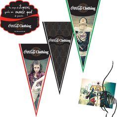 Coca-Cola Clothing - vários materiais de ponto de venda. Campanha inverno 2009