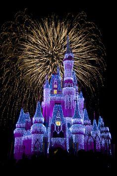 Cinderella's Castle with ICE by Lori Elizabeth, via Flickr