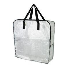 DIMPA Oppbevaringspose IKEA Beskytter innholdet mot smuss og fuktighet. Kan også fint brukes til avfallssortering.