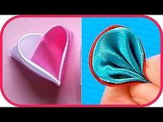 Kanzashi Petals Tutorial Compilation #4 - Zahra DIY Ideas - YouTube