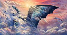 Art by Leysi dragon Mythical Creatures Art, Mythological Creatures, Magical Creatures, Mythical Dragons, Cool Dragons, Fantasy Beasts, Dragon Artwork, Dragon Pictures, Fantasy Dragon