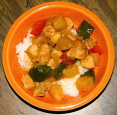 Shel's Kitchen: Sweet and Sour Chicken