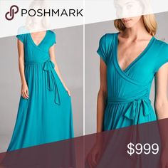 SPRING PREVIEW!!!! Teal Maxi Dress This has arrived and it's gorgeous. Listing to be updated. This manufacturer is all made in USA and very high quality. Their sizing runs true to size to slightly large. Dresses Maxi