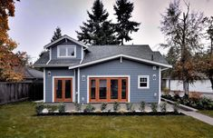 Today's featured small house is a laneway house in Vancouver, Canada. Vancouver allows homeowners with alley access to replace their garages with a second small house. The Arbutus is a recently com...