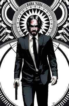 Art Decor John Wick Hot Movie Series Keanu Reeves Silk Poster - Ideas of John Wick John Wick Blu Ray, John Wick Film, John Wick 1, Keanu Reeves John Wick, Keanu Charles Reeves, Baba Yaga John Wick, Cyberpunk, Free Poster Printables, Chef D Oeuvre