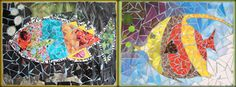 Magazine Mosaics Lesson Plan: Recycling for Kids - Art on a Shoestring (Making art from recycled materials) KinderArt