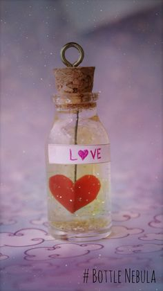 DIY: Bottle Charm do Amor ➸ Poção Mágica