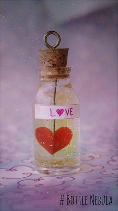 DIY: Bottle Charm do Amor ➸ Poção Mágica