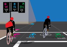 London Designer Has A New Take On Cycle Wayfinding | Londonist