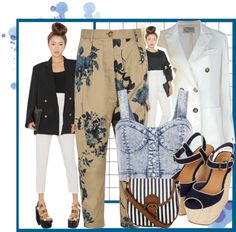 """""""mixed blue"""" by niknik78 on Polyvore"""