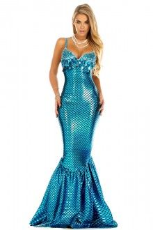 Sensational Sea Gem Sexy Mermaid Costume