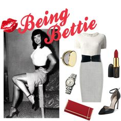 """""""Being Bettie"""" by dandelionapril on Polyvore"""