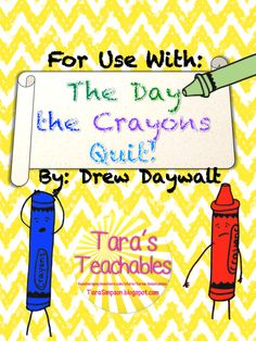 Tara Teaches: The Day the Crayons Quit Writing Papers