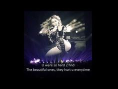 Beyonce Formation Tour Dallas - The Beautiful Ones - (Lyrics Video Cover) Live 2016 - YouTube
