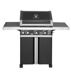 Een barbecue staat garant voor een gezellige tijd in de buitenlucht. Elektrische barbecues, barbecues op kolen of een gasbarbecue: het aanbod is tegenwoordig groot. Met een luxe gasbarbecue leg je de basis voor een outdoor kitchen. Bijvoorbeeld deze Barbecue Brada 3+1 brander #leenbakker #terrasideeen