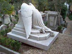 Angel of Grief. Metarie Cemetery. NOLA