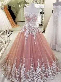 Plus Size Prom Dress, quinceanera dresses,lovely wedding dress,ball gowns wedding gowns Shop plus-sized prom dresses for curvy figures and plus-size party dresses. Ball gowns for prom in plus sizes and short plus-sized prom dresses Blush Prom Dress, Strapless Prom Dresses, Cute Prom Dresses, Sweet 16 Dresses, Tulle Prom Dress, Dress Lace, Party Dresses, Quinceanera Dresses Blush, Long Dresses