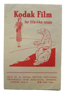 Kodak film envelope by shelfappeal, via Flickr