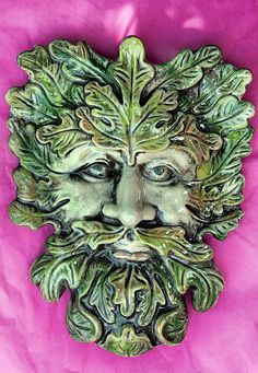 "The Green Man"" is thought to have originated as a Pagan symbol of ..."
