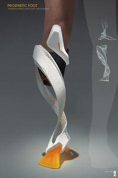 prosthetic limb #3dPrintedMedicalBiotech