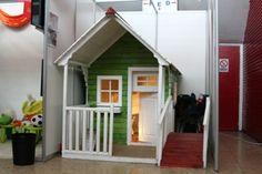 Clara wooden playhouse