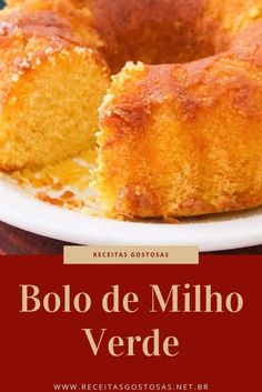 Minho, Cornbread, Food And Drink, Low Carb, Thanksgiving, Cooking, Ethnic Recipes, Bolo Fit, Bananas